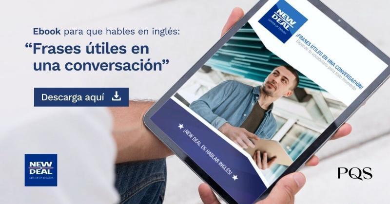 """Ebook para que hables en inglés: """"Frases útiles en una conversación"""""""
