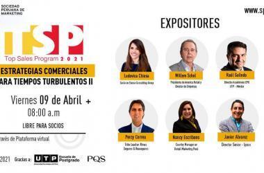 Sociedad Peruana de Marketing presenta segunda edición del Top Sales Program