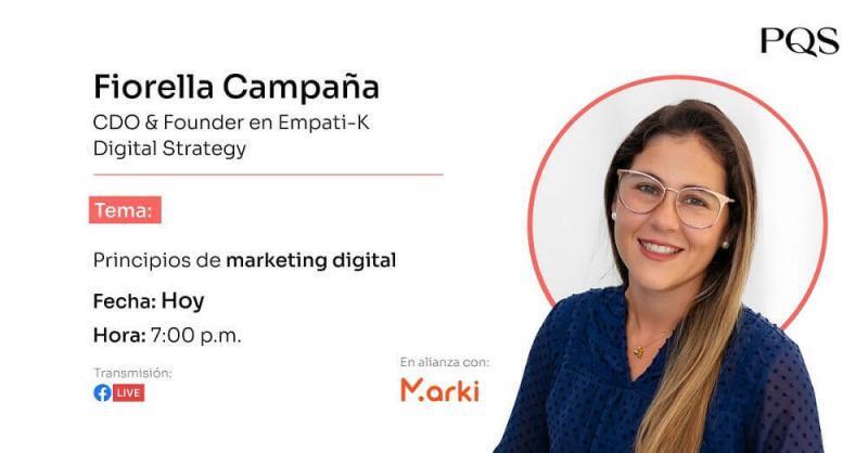 """Webinar: """"Principios de marketing digital"""""""