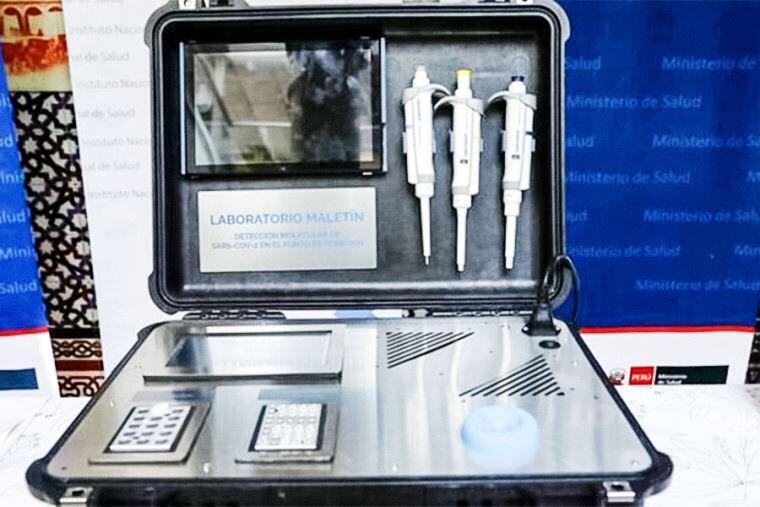 Crean laboratorio portátil en forma de maleta para diagnóstico molecular del Covid-19