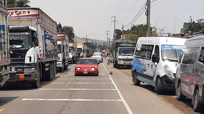 Paro de transportistas: Sagasti hace llamado a la calma y a desbloquear vías