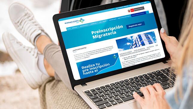 Extranjeros en Perú deben actualizar sus datos en la web de Migraciones