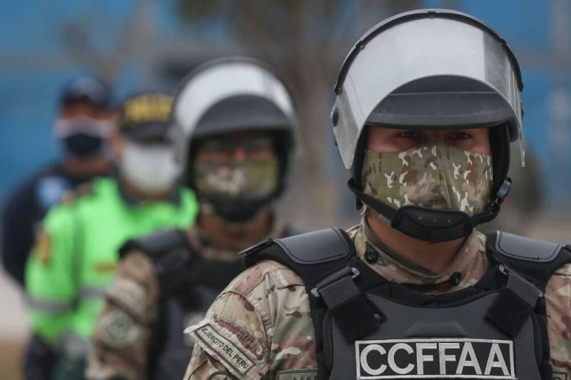 Elecciones 2021: Policía y FF. AA. garantizan la seguridad el 11 de abril