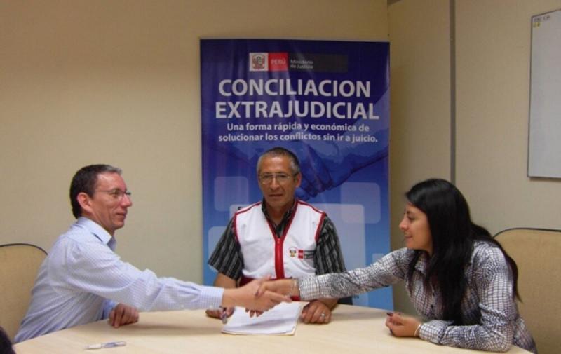 Ministerio de Justicia trabaja reglamento para audiencias de conciliación virtuales
