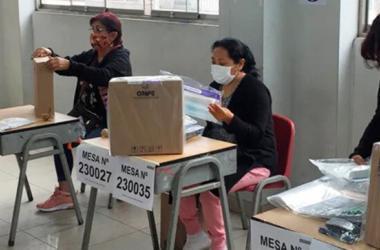 Elecciones 2021: Excusas para no ser miembro de mesa podrán tramitarse hasta el 10 de abril