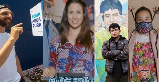 Cuatro peruanos que inspiran por su creatividad con propósito