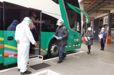 viajes interprovinciales pandemia
