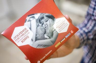 Grupo Romero entregará de nuevo completamente gratis 1 millón de mascarillas KN95