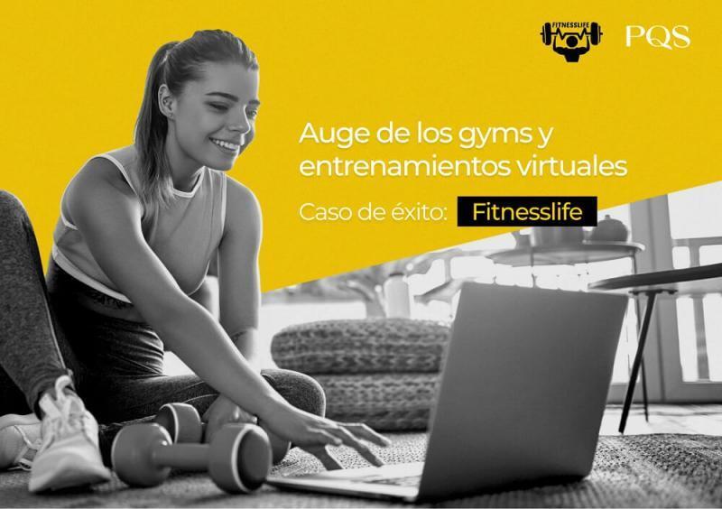 Gimnasio virtual y el auge del entrenamiento online: El caso de éxito de FitnessLife