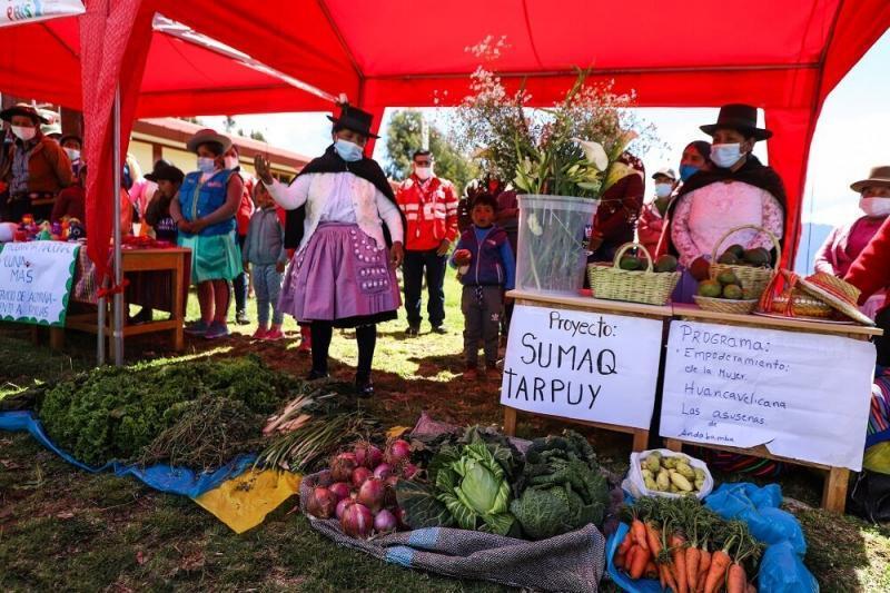 Huancavelica: Más de 140 mil personas mejorarán calidad de vida gracias a emprendimientos agrícolas que serán impulsados en 51 Tambos