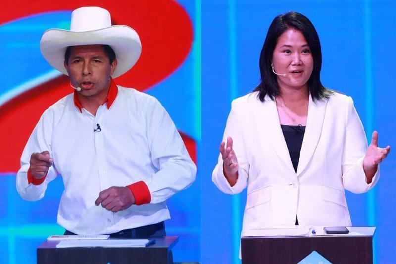 El Perú del Bicentenario: conoce las propuestas de Pedro Castillo y Keiko Fujimori en primer bloque del debate