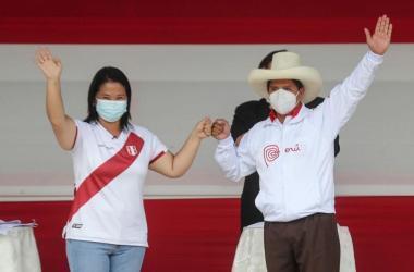 """Debate: propuestas de Pedro Castillo y Keiko Fujimori en bloque """"Educación, ciencia e innovación"""""""