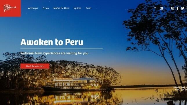 """Presentan campaña internacional de turismo """"Despierta en Perú"""""""