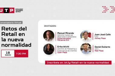 Conversatorio virtual: Líderes del retail analizarán retos del sector en la nueva normalidad
