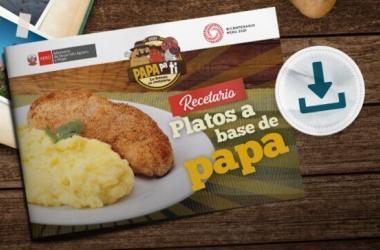 Lanzan recetario de platillos a base de papa para descargar gratis