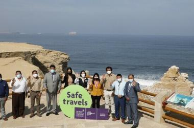 Destinos turísticos de Ica, Nasca y Paracas reciben sello internacional Safe Travels