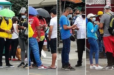 Principales riesgos de comprar chips prepago a ambulantes en la calle
