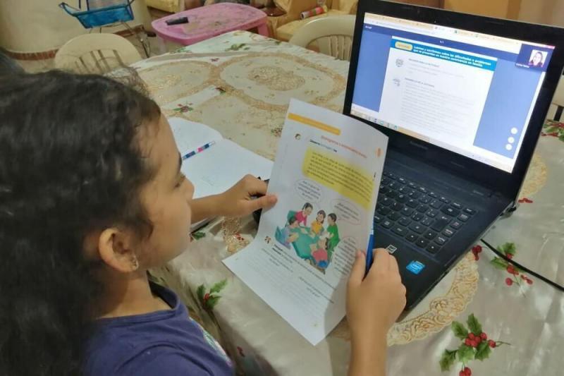 El 65.7 % de la población de 6 a 17 años accedió a internet en el primer trimestre de 2021