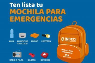 Mochila de emergencia: esto es lo que debe contener