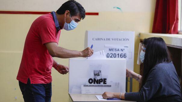 Sagasti insta a peruanos a votar y respetar resultados desegunda vuelta