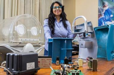 Diseñan armazón para transportar equipos médicos a zonas alejadas del Perú