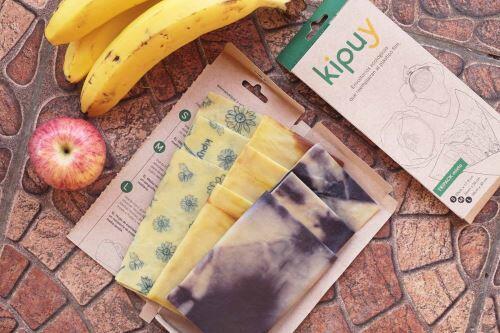 Emprendedores diseñan envoltorios ecológicos para conservar alimentos