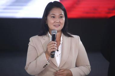 Keiko Fujimori asegura que reconocerá resultados electorales