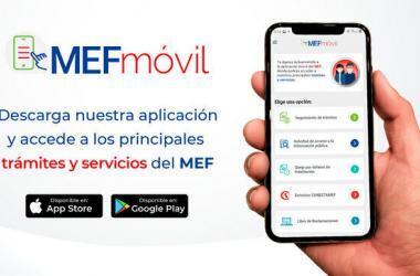 Lanzan aplicativo MEFmóvil para trámites y servicios de la ciudadanía