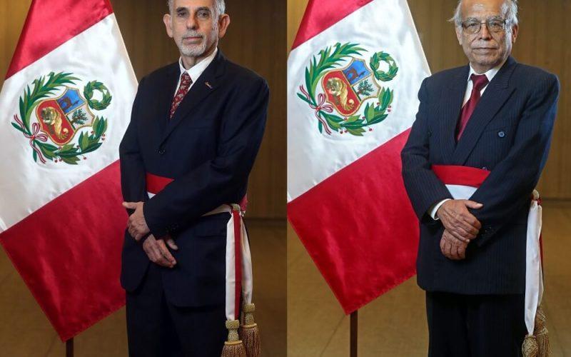 Pedro Francke y Aníbal Torres juramentaron como ministros de Economía y Justicia
