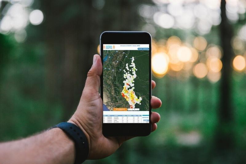 ¿Vas a viajar? verifica la cobertura móvil del destino con Señal OSIPTEL