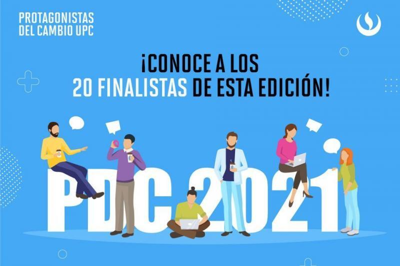 Protagonistas del Cambio UPC: Ellos son los 20 emprendedores finalistas