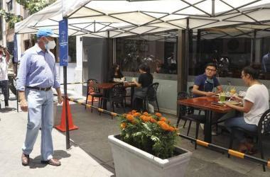Terrazas gastronómicas: definen líneas de acción para su promoción e implementación