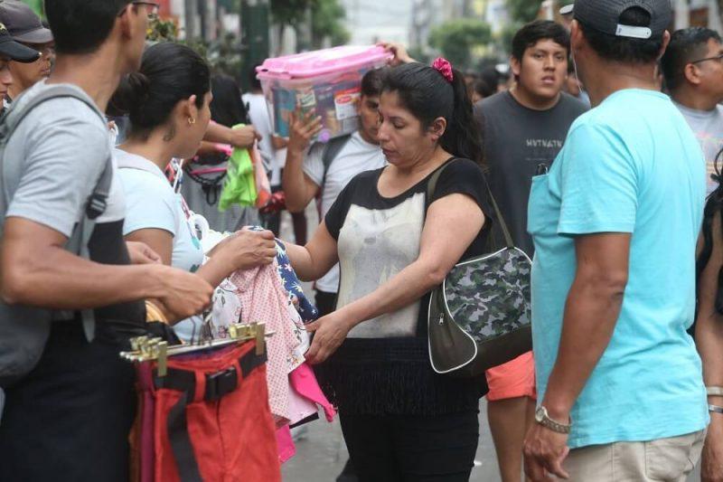 Empleo: más de 9 millones de peruanos son trabajadores informales