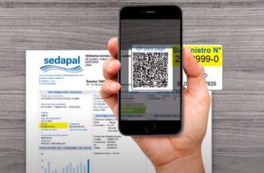 Sedapal: usuarios de Lima y Callao podrán pagar sus recibos desde celulares