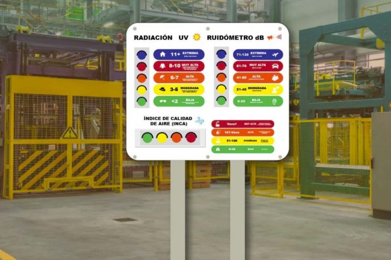 medidor calidad ambiental