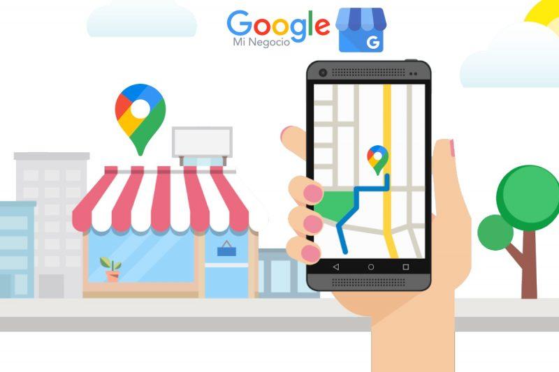 perfil de negocio google maps
