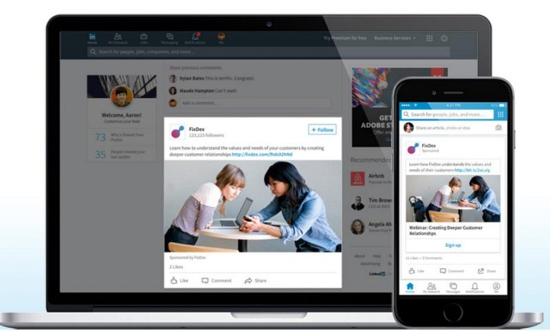 Como crear una campaña publicitaria en LinkedIn