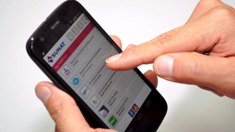 recibo por honorarios desde celular trabajadores independientes sunat