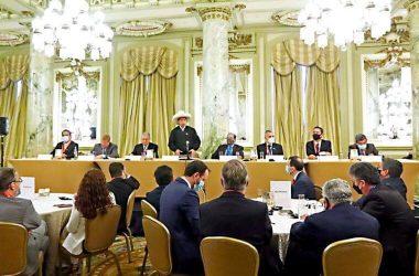 Castillo pide a empresarios invertir en el Perú