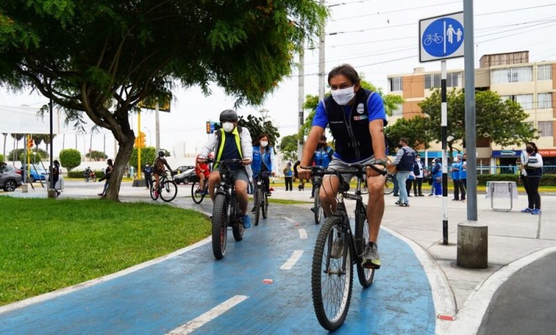 Postergan aplicación de multas a ciclistas hasta marzo del 2022