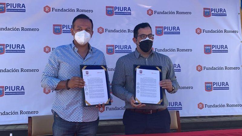 Fundación Romero entrega 10 mil becas en cursos virtuales a la Municipalidad Provincial de Piura