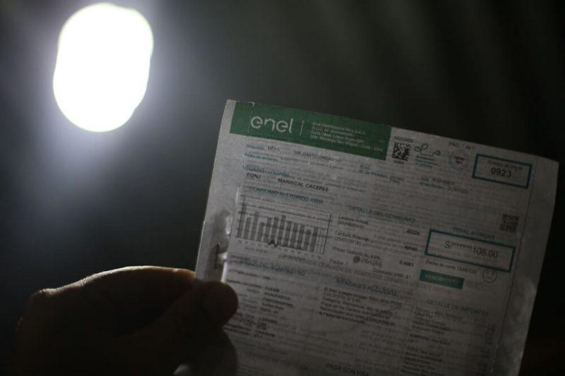 Tarifas de electricidad volverán a subir desde este 4 de octubre
