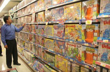campaña navideña juguetes